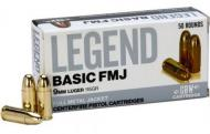 GBW AMMO 9MM LUGER 115GR FMJ 50 rounds