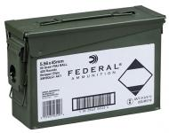 Federal XM193LCAC1 M193 5.56NATO 55GR FMJ Can 20Boxes/21 420