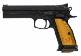 CZ 75 Thumb Safety ORANGE 40 S&W 17 Round mags - 91260