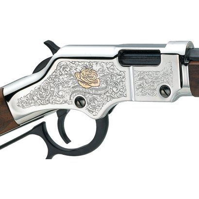 Henry H004AB Engraved American Beauty Lever 22 Short/Long/Long Rifle 20