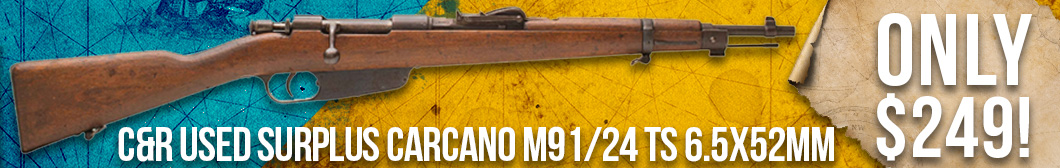 Surplus Carcano Rifle