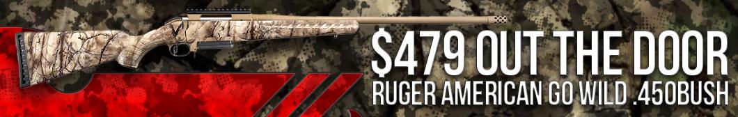 Ruger American Go Wild .450BUSH