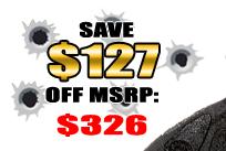 SAVE $127 OFF MSRP: $326