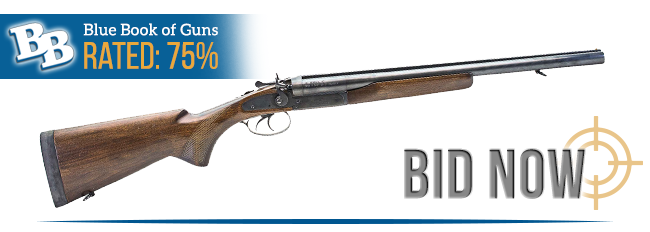 BLUE BOOK OF GUNS RATED 75%
