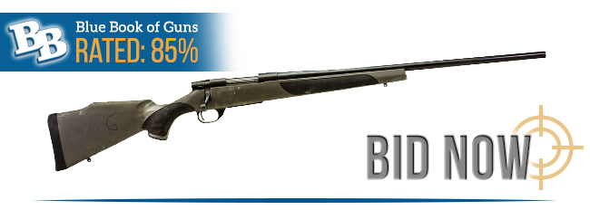 BLUE BOOK OF GUNS RATED 85%