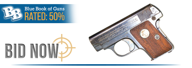 BLUE BOOK OF GUNS RATED 50%