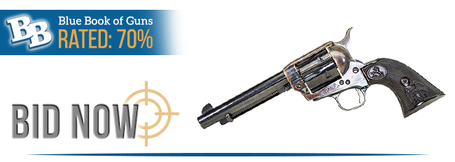 BLUE BOOK OF GUNS RATED 70%