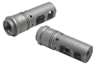 Surefire SFMB68 Suppressor Adapter Muzzle Brake 6.8mm 6.8 SPC Stainless Steel 2