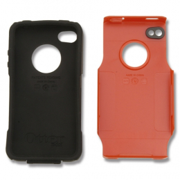OtterBox Commuter Series™ For iPhone™ 4 - Red/Black
