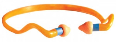 Howard Leight 1 Pair Quiet Band Orange Ear Plugs