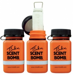 Tinks Scent Bombs Works w/All Cover Scents & Lures