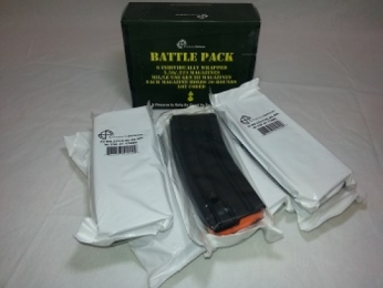 Battle Pack of 6 Stainless Steel AR-15 30 Rd. C products Mags