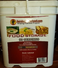 Survival Cave Food 90 Servings 1,000 Calories/day for 15 days