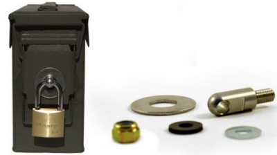 Ammo Can Locking Hardware fits 50 Cal 30 Cal 20 mm 40 mm
