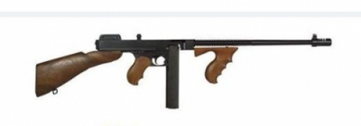 Thompson 30 + 1 45 ACP Semi-Automatic Deluxe w/Blue Barrel &