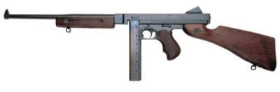 Thompson 30 + 1 45ACP Semi-Automatic w/Blue Steel Barrel & A