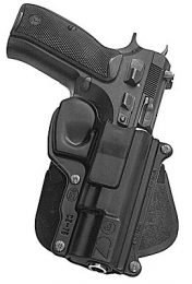 Fobus Standard High Ride Holster w/Paddle Attachment