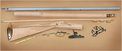Traditions KRC52206 Kentucky Rifle Kit Percussion 50cal 33.5