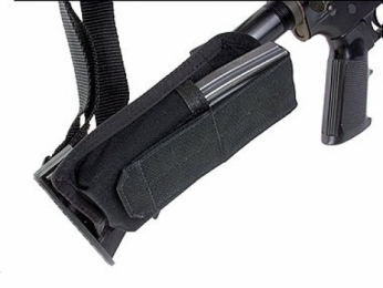BlackHawk Black M4 Collapsible Stock Mag Pouch