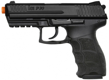Umarex 6MM BB Airsoft Electric H&K P30 Pistol Black Finish