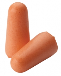 Molded Foam Ear Plugs Six Pair