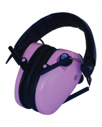E-MAX Low Profile Electronic Hearing Protection Pink