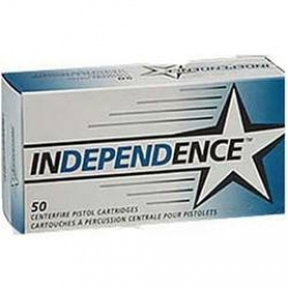 Independence Ammunition .40 S&W 165 Grain Full Metal Jacket 50 P