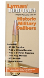 Load Data Book Old Military Calibers