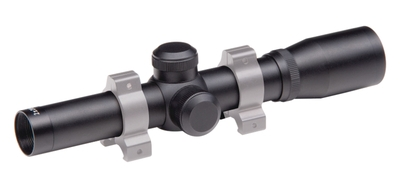 Pistol Scope 2x20mm Duplex Reticle Matte Black