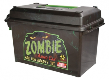 Ammo Can Zombie Limited Edition .50 Caliber Case of 6