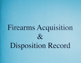Acquisition and Disposition Record Book