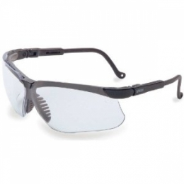 Genesis Glasses Black Frame Clear Lens