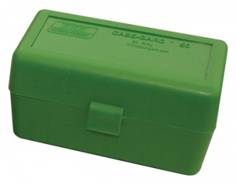 Case-Gard 50 Rifle Ammo Boxes .220 Swift to .458 Winchester Mech