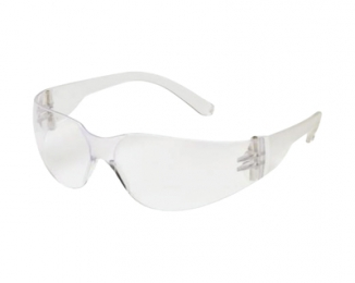 Mini Intruder Shooting Glasses Clear Frame Clear-Hardcoated Lens