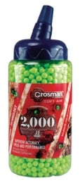 6mm Plastic BB\'s Green 2000 Rounds
