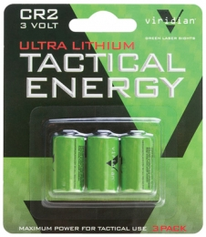 Tactical Energy Ultra Lithium CR2 Batteries 3-Pack