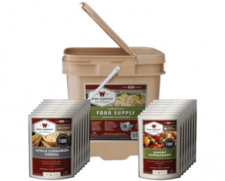 WISE 56 SERVING BUCKET 11LBS FREEZE DRIED FOOD