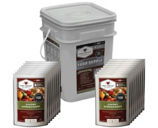 WISE 60 SERVING BUCKET 12LBS FREEZE DRIED FOOD