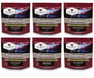 WISE 72 Hour Emergency Entree 6 Count Food Kit