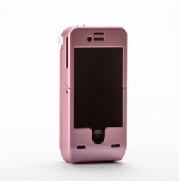 YELLOW JACKET STUN GUN IPHONE 4 4S CASE PINK
