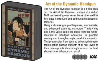 MAGPUL ART OF DYNAMIC HANDGUN 4 DVD