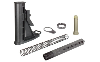 UTG 6-POS STK ASSEMBLY MIL-SPEC BLK