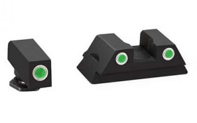 AMERIGLO 3DOT Tritium Night Sights Glock 43 9mm