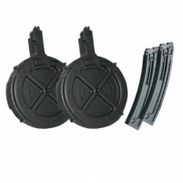 ATI GSG (2) 110 Rd Drums AND (2) 22 Rd Mags