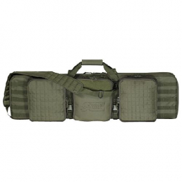 Voodoo 42  Deluxe Padded Weapon Case w/ 6 Bla | OD Green