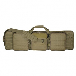 Voodoo 42  Deluxe Padded Weapon Case w/ 6 Bla | Coyote