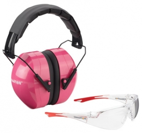 Champion Targets 40624 Eyes And Ears Earmuffs/Shooting Glass