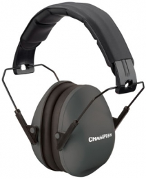Champion Targets 40971 Slim Fit Earmuff Black