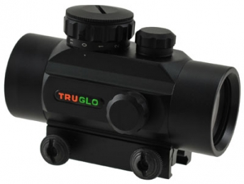 Truglo TG8030P Red Dot 1x 30mm Obj Unlimited Eye Relief 5 MO