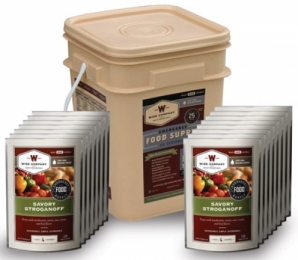 Wise Foods Inc. Meals Ready To Eat 60 Servings Various